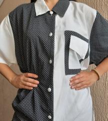 Retro bluza viskoza
