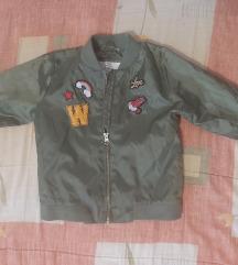Bomber jaknica za devojcice  104/110