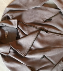 Velur siva jaknica