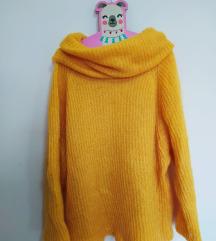 Prelepi žuti džemper