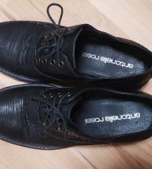 Antonella rossi crne cipele oksfordice