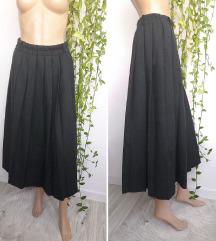 Vintage zimska plisirana suknja