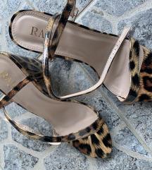 Elegantne štikle leopard print