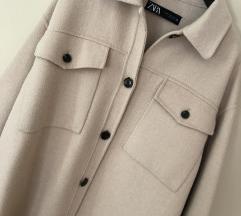 Zara vunena kosulja/jakna
