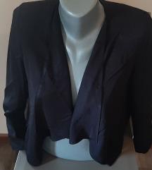 Prelepi letnji crni sako, S, NOVO