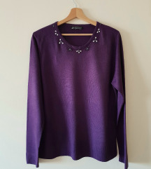 Ljubicasta bluza / trikotaza