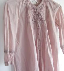 HM tunika prljavo roze/puder boja