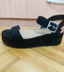 Asos crne sandale
