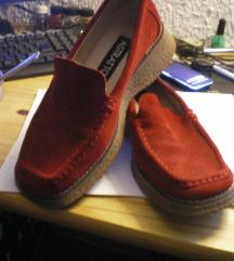 cipele kozne 36 CRVENE mokasine