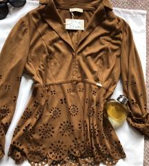 MISS MONEY NOVA italijanska braon jaknica M