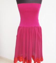 SONIA RYKIEL ciklama haljina/suknja sa šljokicama