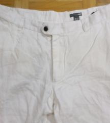 H&M nove lanene bele pantalone vel 52