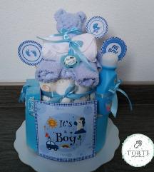 Torta od pelena It's a boy!