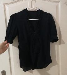 Zara crna vintage košulja