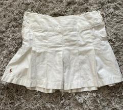 Ralph Lauren bela suknjica