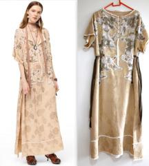 ZARA zlatna haljina Campaign Collection