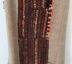 Rucno tkana vunena dizajnerska suknja