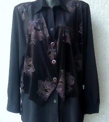 crna košulja broj 48 do 50 MAX COLLECTION