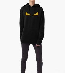 FENDI monster eyes hoodie