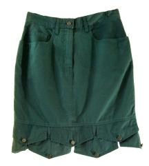 MOSCHINO zelena suknja, ORIGINAL