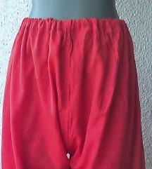 pantalone za leto crvene kao dimije br 42 do 48