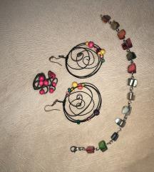 Set ručno radjenog nakita