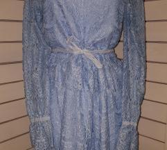 Cipkana baby plava haljina