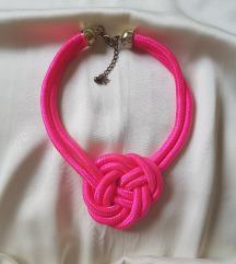 Pink ogrlica