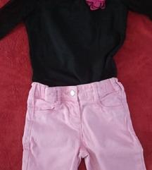 Bermude-suknjica-majica vel 4-5