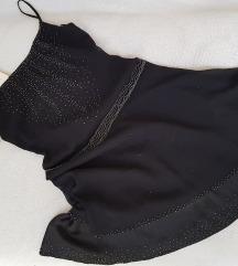 * Svecana mini crna haljina *