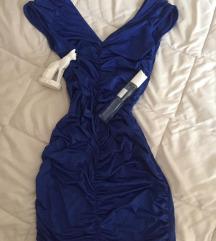 AKCIJA  - uska plava haljina