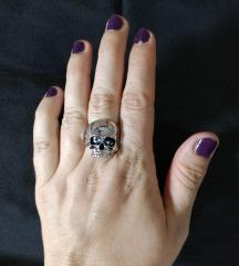 Unisex Skull lobanja prsten