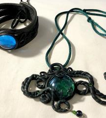 Fantasy narukvica+ ogrlica