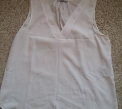 Bela majica/tunika V izrez