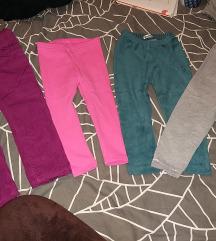 Zimske termo pantalone i helanke - br. 92, 2god