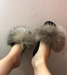 Papuče sa prirodnim krznom SNIŽENE
