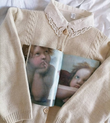 Komplet džemper i košulja