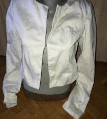 beli sako na crne pruge