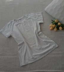 Bela basic majica 100% pamuk