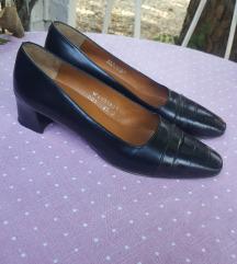 RALPH LAUREN crne kozne cipele