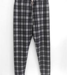 Chicoree karirane helan-pantalone S NOVO