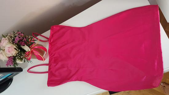 Oh Polly saten neon mini haljina SNIZENO