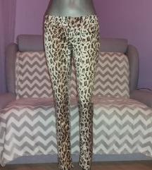 Animal print pantalone