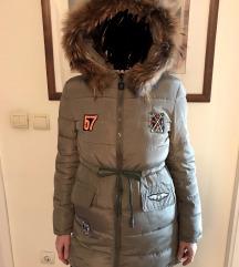 perjana jakna pravo krzno NOVO