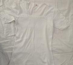 Bela pamučna majica