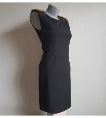 Crna svecana haljina SNIŽENO