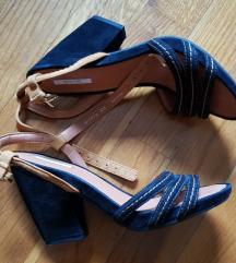 %7.500-Geox nove kožne sandale