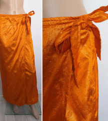 Indijska suknja na preklop