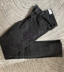 Mango crne pantalone