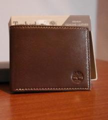 Timberland kožni novčanik braon + GIFT BOX
